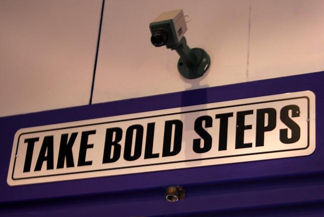 Take Bold Steps