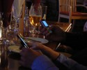 cell phones at dinner