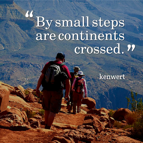 By Small Steps