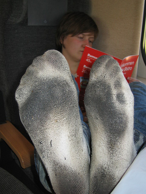 dirty socks