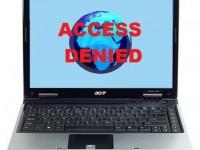 Internet access denied