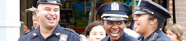 Laughing Officers