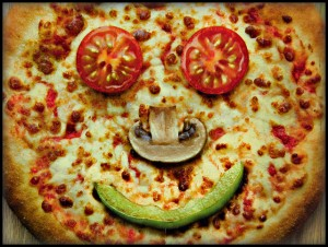 Peace of Pizza smile