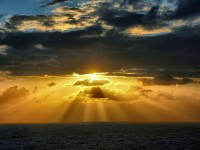 Ray of Hope through the Clouds